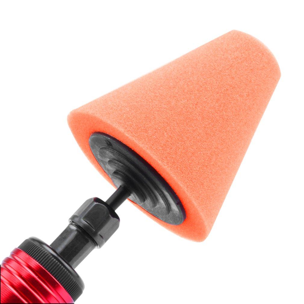 Burnishing Foam Sponge Polishing Cone Shaped Buffing Pads For Car