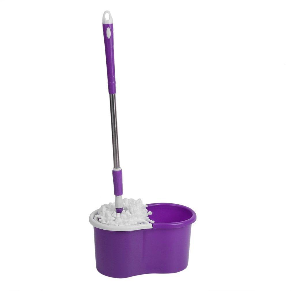 360 spin mop bucket stainless steel dry 2 free microfibre mop head steel net xt ebay