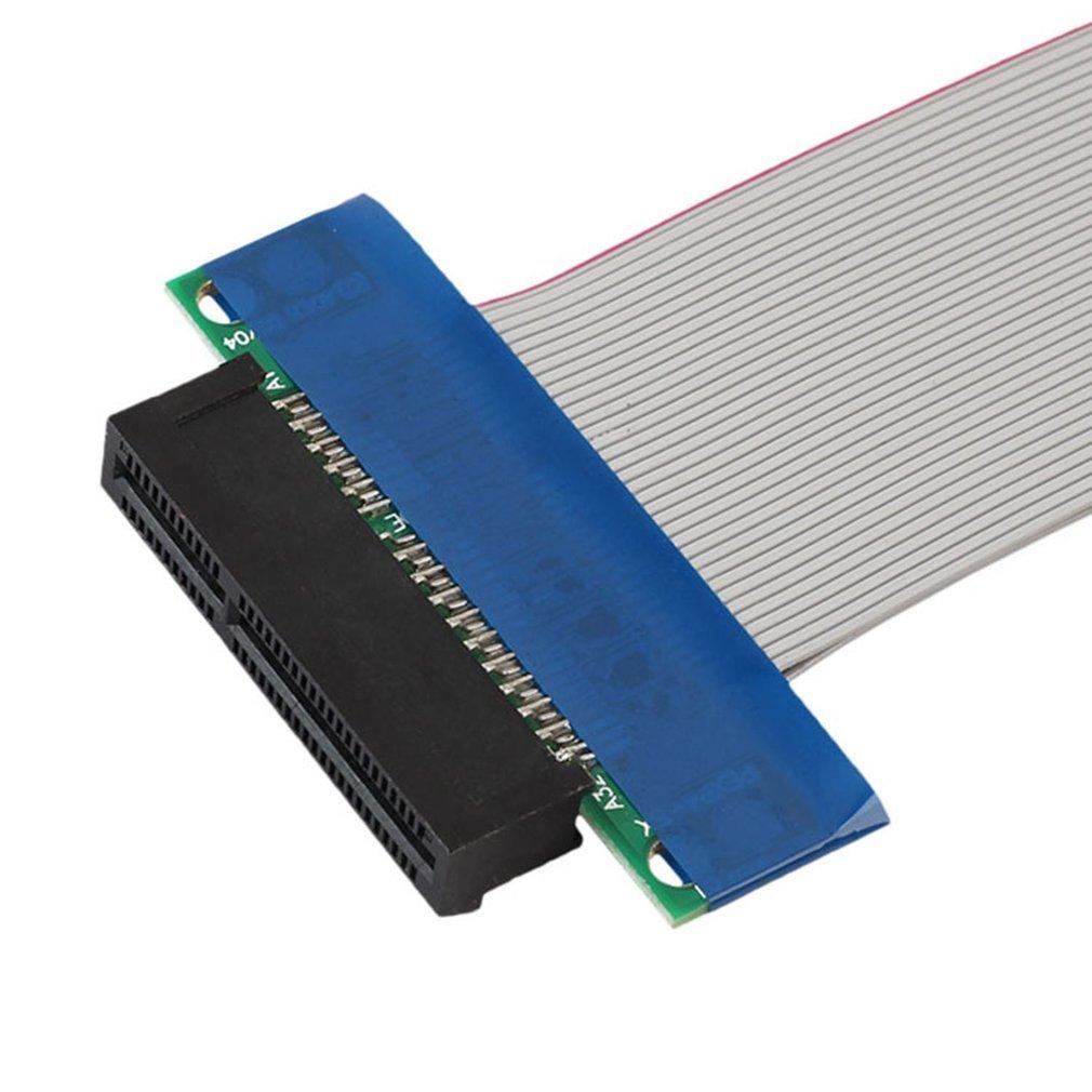 PCI-Express-PCI-E-4X-8X-Riser-Card-Flexible-Ribbon-Extender-Extension-Cable-FT