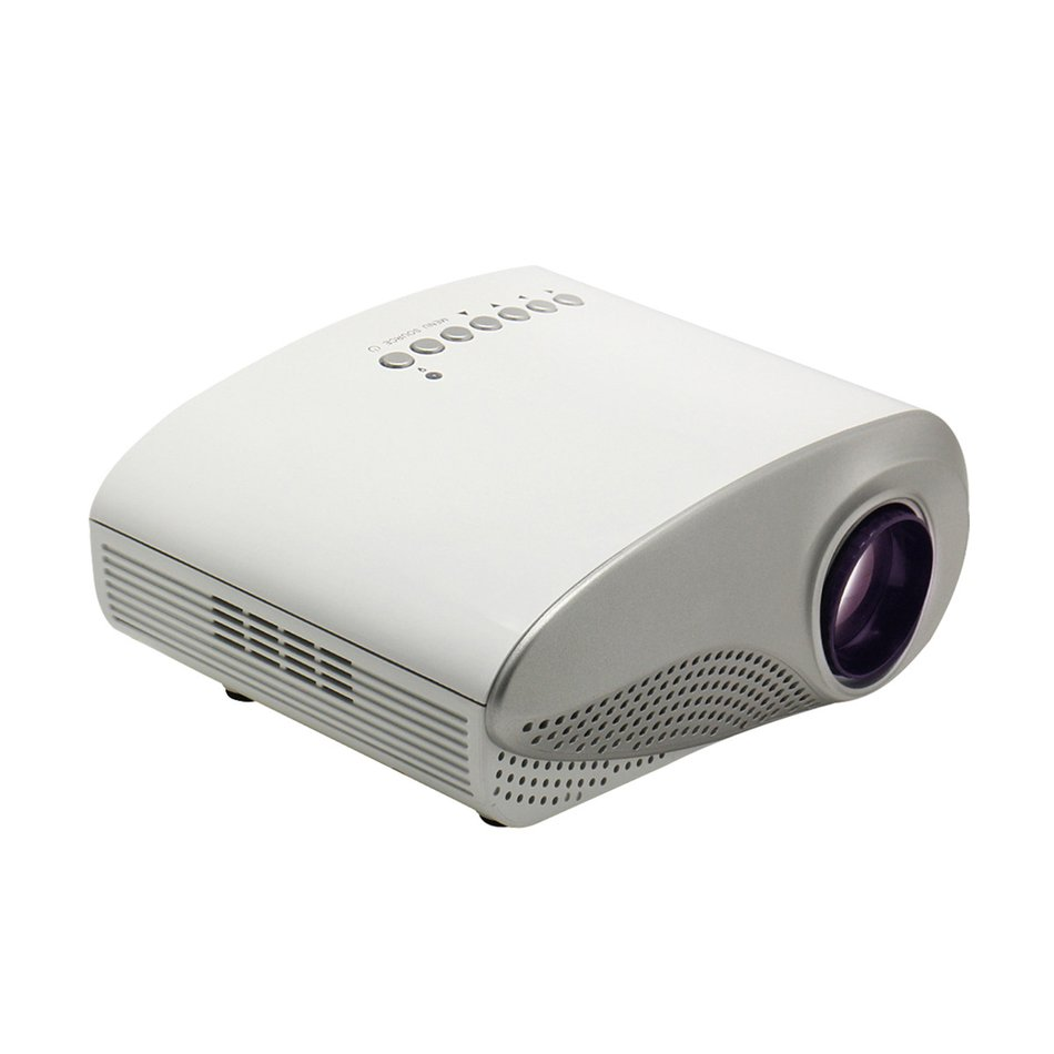 3d full hd 1080p mini projector led multimedia home for Mini usb projector for mobile