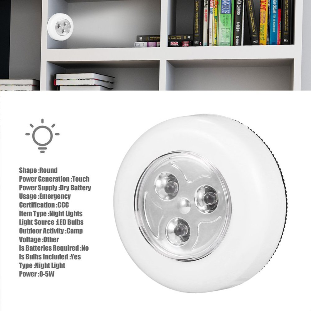 13 LED Light Lamp Rechargeable Home Emergency Automatic Power ...