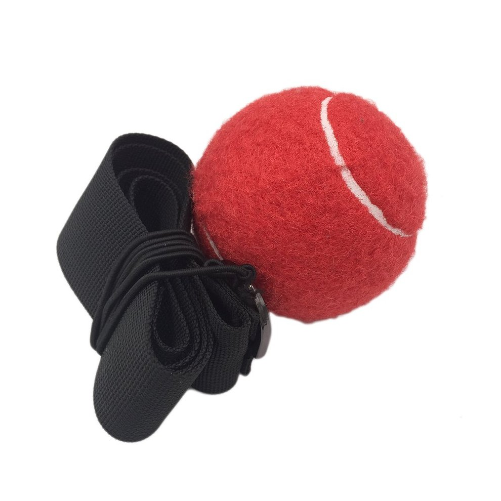 NEW Boxing Punch Exercise Fight Ball W// Head Band For Reflex Speed Training t#