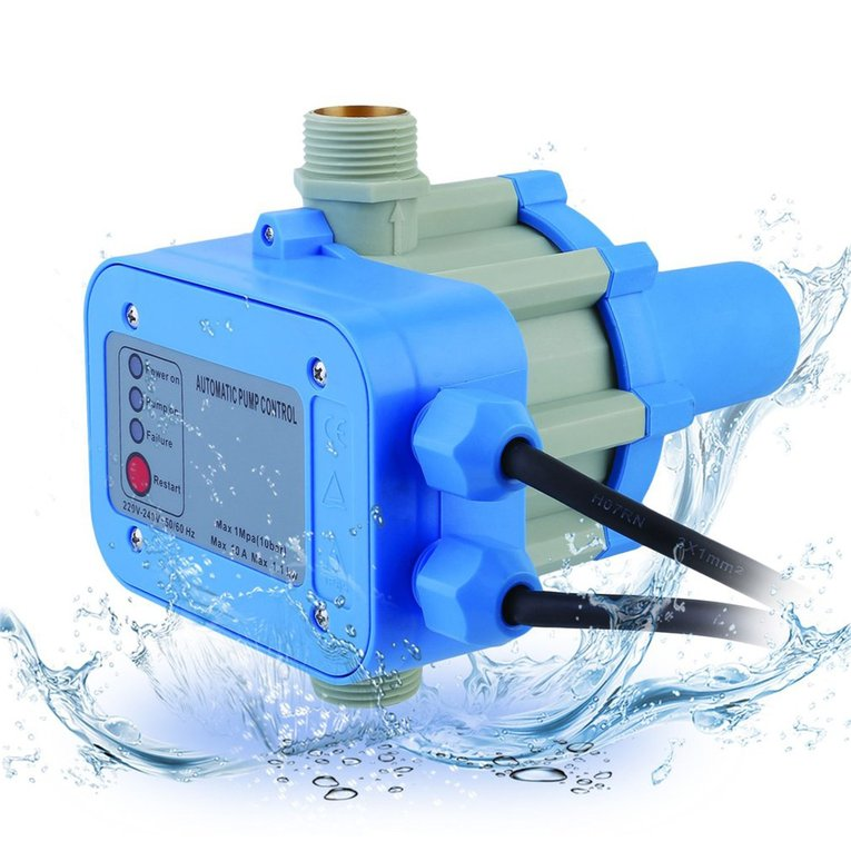 JSK-1 Automatic Electronic Switch Water Pump Pressure Controller EU ...