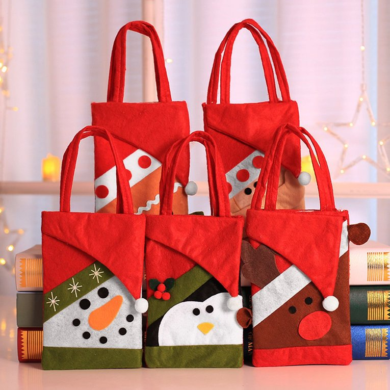 non woven fabrics children candy bags christmas gift bag for candy