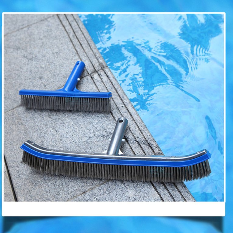 Details about Swimming Pool Brush Head Pool Cleaning Brush Heavy Duty Pool  Broom Head Tool BF