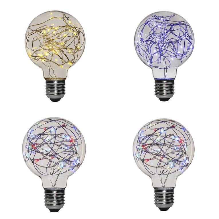 Lights & Lighting G95 Copper Wire E27 3w Led Retro Edison Bulbs For Restaurant Party 220-240v Glass Lighting Bulbs With 360 Degree Beam Angle Led Bulbs & Tubes