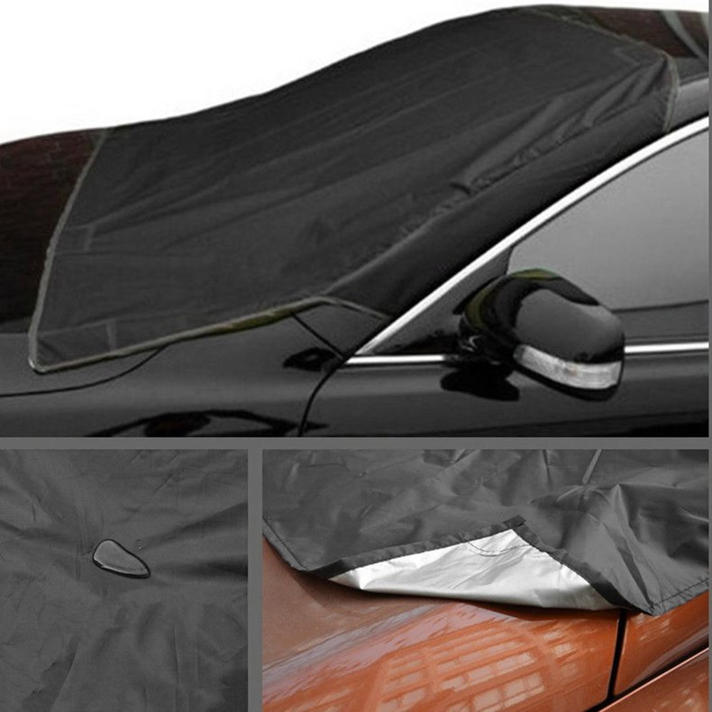 Car Windscreen Anti Snow UV Reflection Protect Sun Shades Cover with Suction Cup