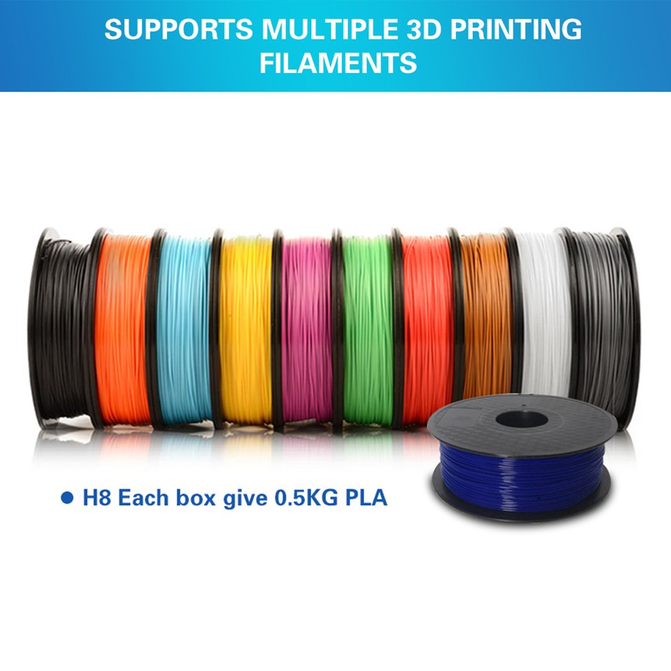 Au Stock Anycubic 3d Printer H8 Upgrade Diy Metal Frame With Pla Electrical Wiring Australia Filament Lcd Q