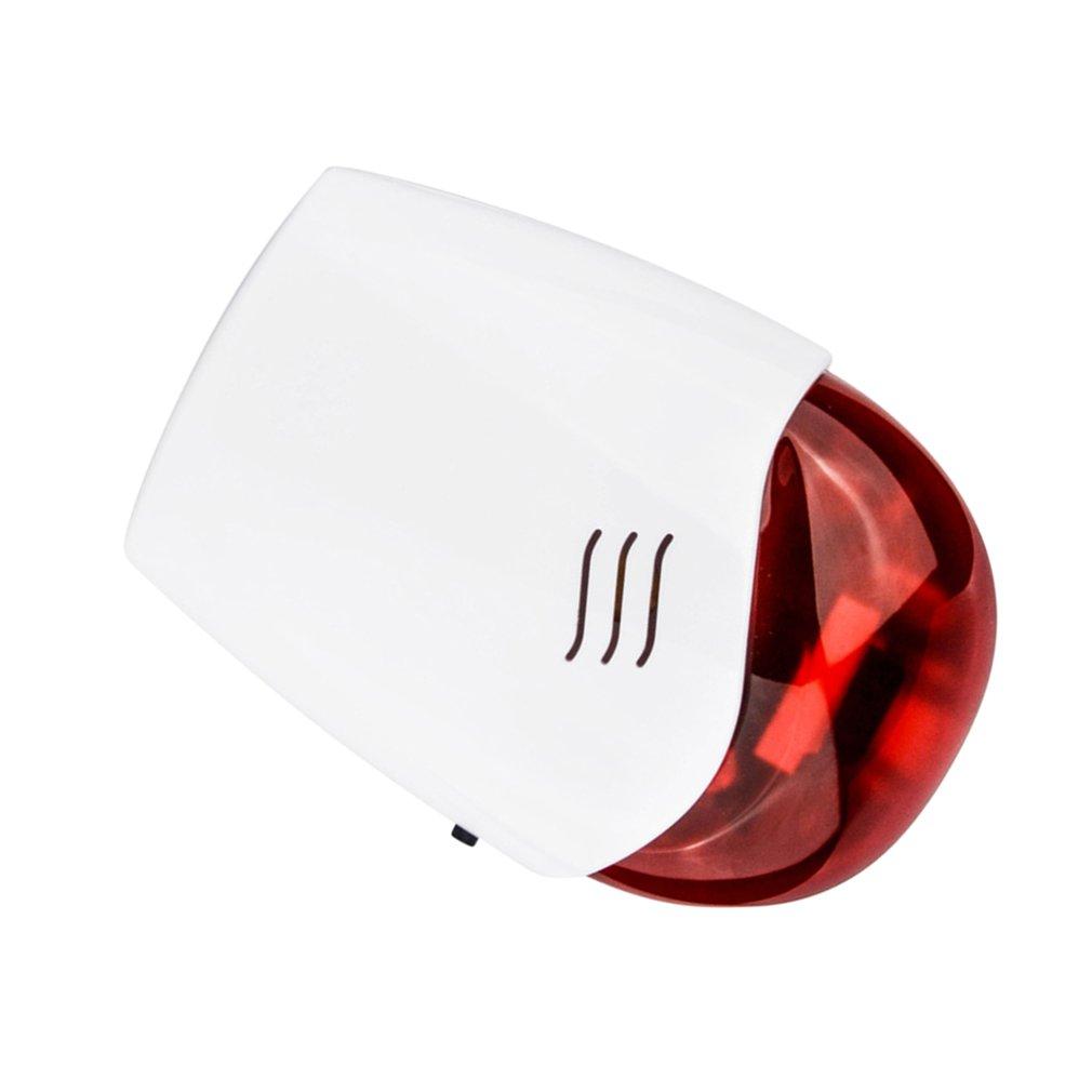 Wireless Outdoor Flash Siren Strobe Flashlight 433 315mhz Sound Us Style About