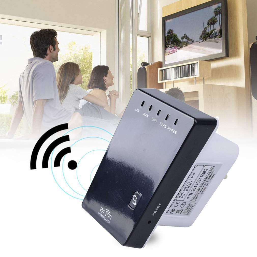 300Mbps Wireless-N Mini Router Wifi Repeater Extender