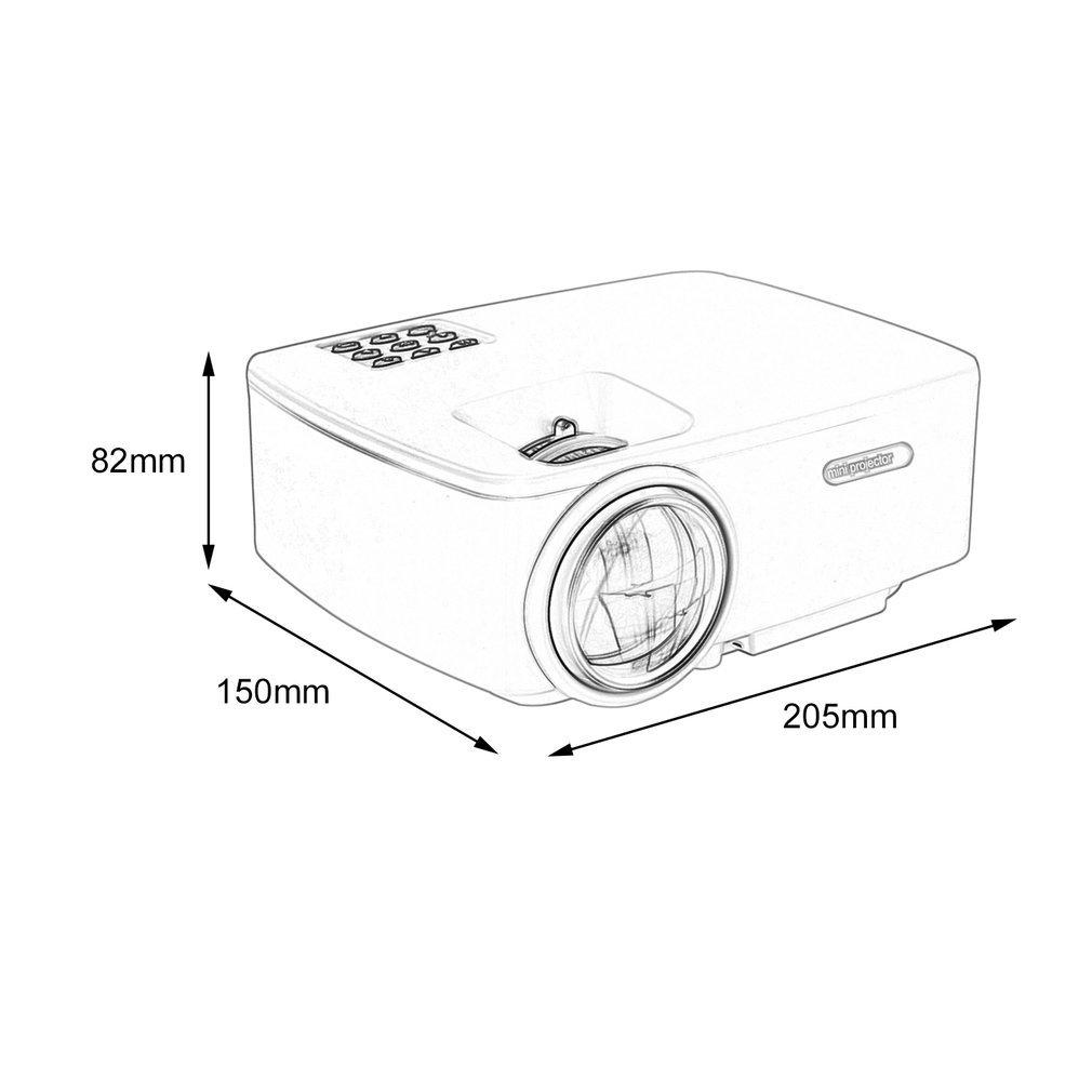 hd 1080p lcd led projector 3d home cinema theater 1200lumen hdmi usb HDMI Pinout Chart item specifics