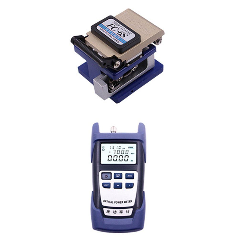 Fiber Optic Ftth Tool Kit Amp Fc 6s Cutter Cleaver Optical