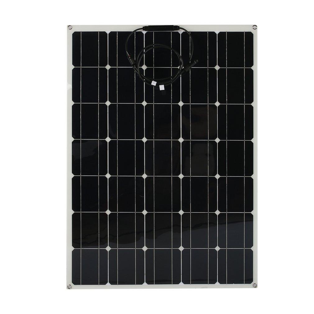 Profi 150W Mono Semi Solarmodul flexibel Solarpanel für Boot Wohnmobil xh