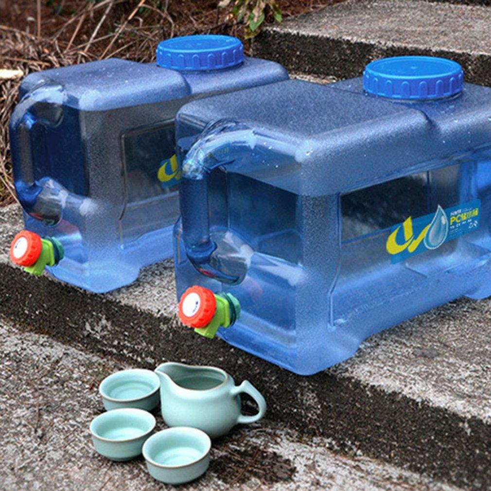 Blau 5//8//12L Auto Camping Outdoor Trinkwasserkanister Wassertank Eimer Mit Hahn