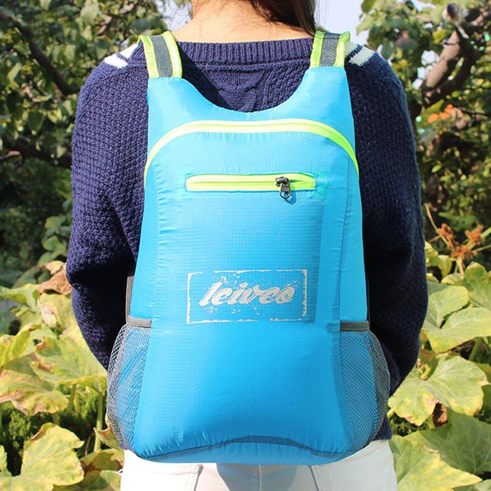 Waterproof Nylon Cycling Backpack Outdoor Camping Daypack Universal  Shoulder Bag Comfortable Hiking Rucksack Bag 4422bdedce