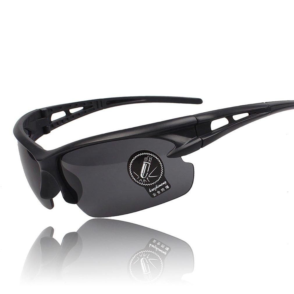 7f8f662cb8c Night Driving Anti Glare Vision HD Glasses Prevention Driver Sunglasses  Black YT