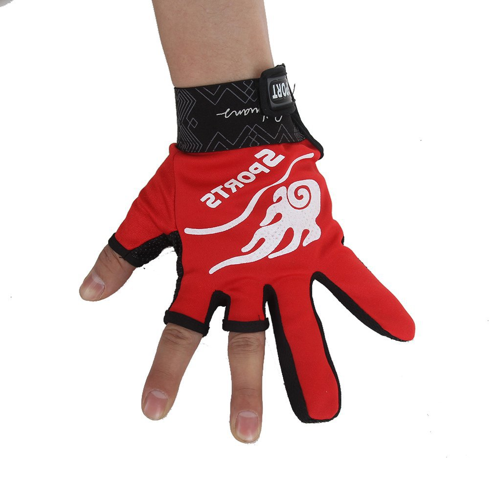Non-slip Tri-finger Exposure Gloves Neoprene Fabric Special For FishingZ Bekleidung Handschuhe