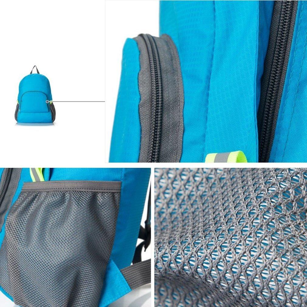 aafeb87d89ca Hiking Bag Rucksack Lightweight Foldable Waterproof Nylon Women Men Casual  Skin Pack Backpack Travel Outdoor Sports Camping