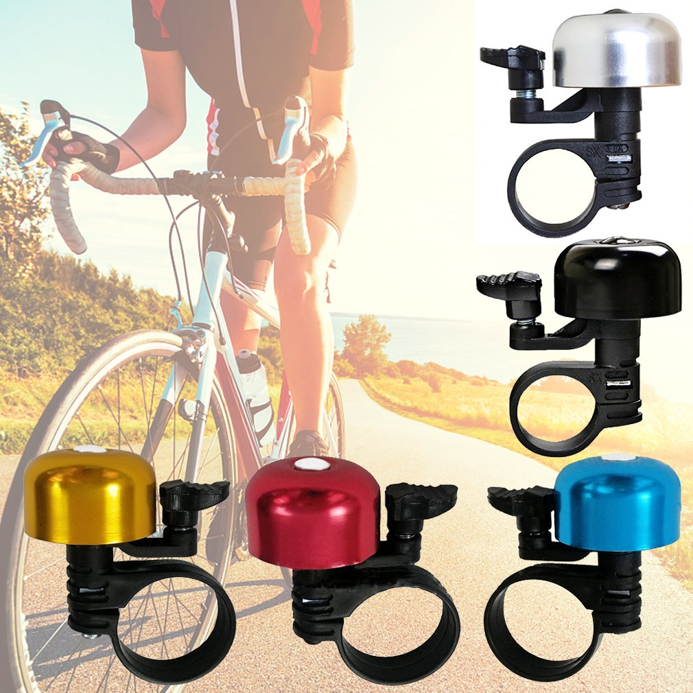 Bicycle Bell Alloy Mini Loud Clear Sound Bike Bells For Adults and Kids SS