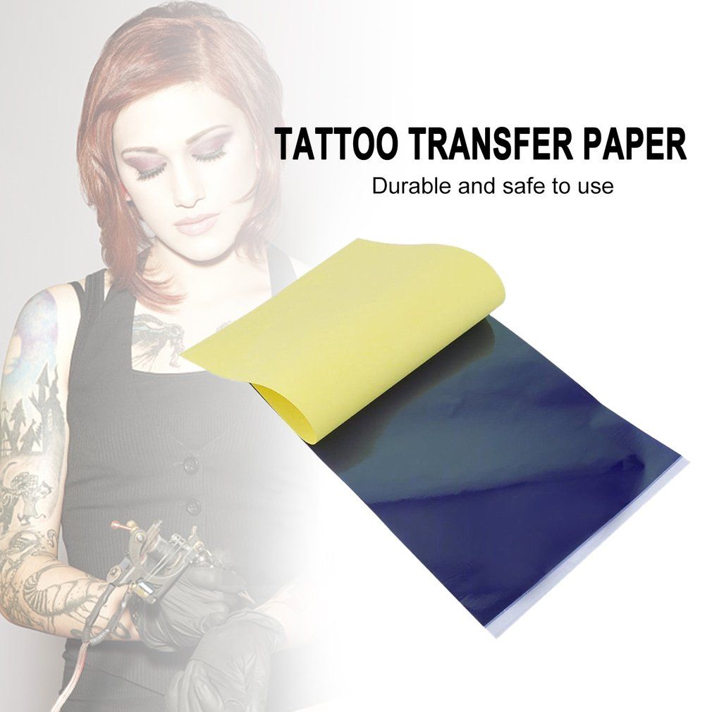 Details About 4 Layer Carbon Thermal Stencil Tattoo Transfer Paper Copy Paper Tracing Paper