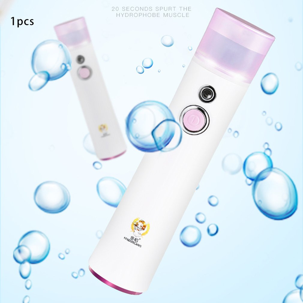Details about Handheld Facial Water Replenishing Instrument USB Portable  Nano Mist Sprayer A1