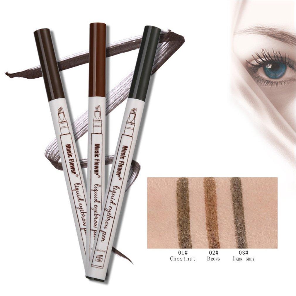 Makeup Fine Sketch Liquid Eyebrow Pen Waterproof Tattooing Eye Brow