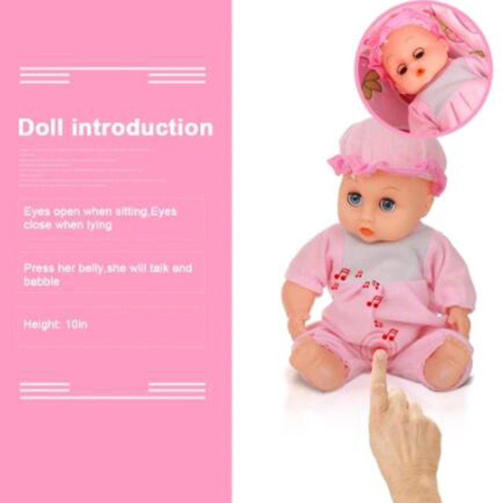 Baby Infant Doll Stroller Carriage Foldable With Doll For 12inch Doll Barbie KL