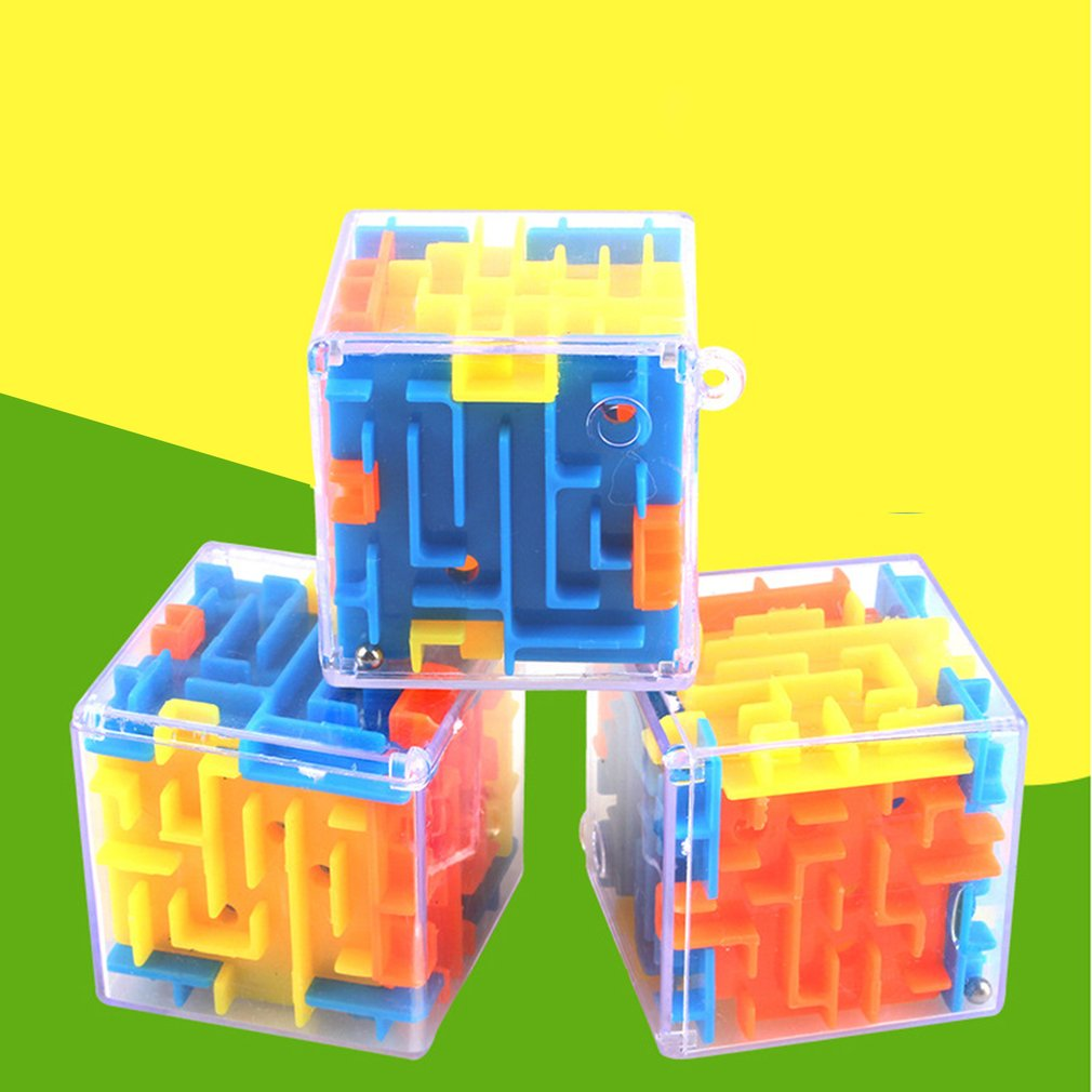 6 Sides Three-dimensional Magic Maze 3d Baby Intelligence Toy Educational Toys Y Developmental Baby Toys Baby