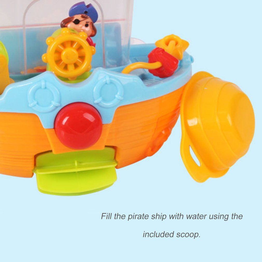 Tomy PIRATE SHIP Baby/Child/Toddler Squirting Bath Activity Toy ...