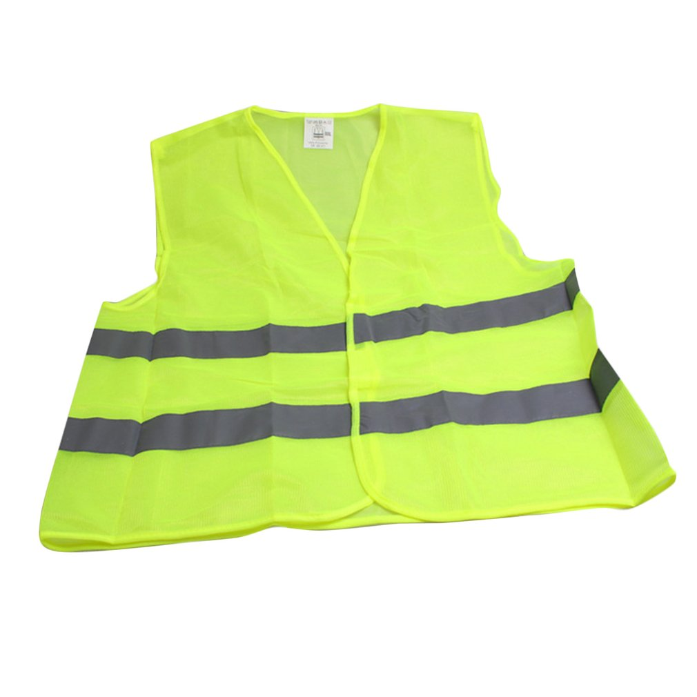 Dependable Zipper Safety Clothing High Visibility Adult Traffic Reflective Safety Vest Building Worker Fishing Vest Back To Search Resultssports & Entertainment