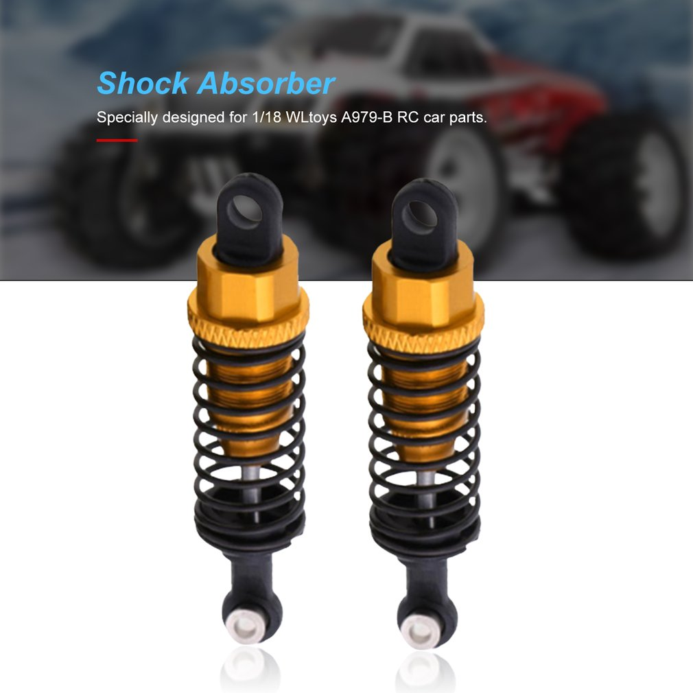 2x Metal Rear Shock Absorber Board for FY-03//Wltoys 12428//12423 1//12 RC Car Part