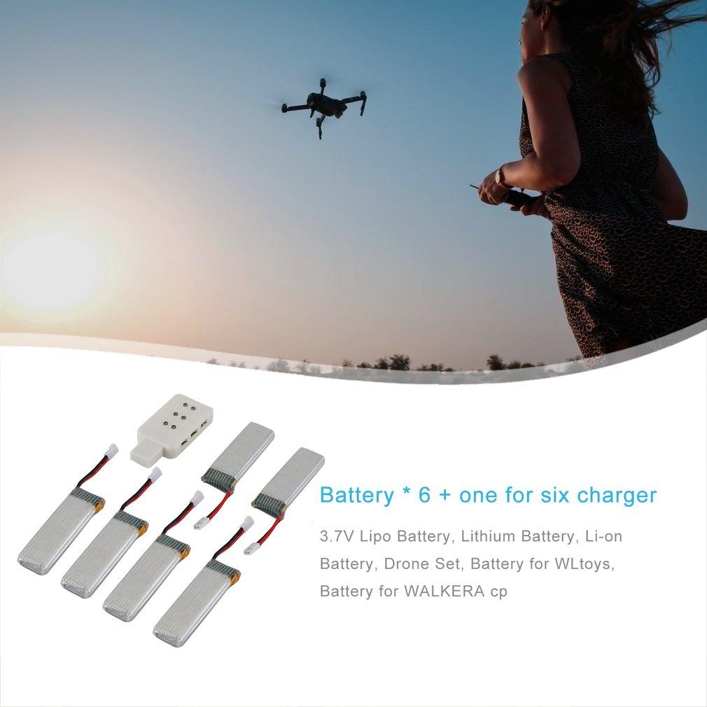 3.7V 520mAh 35c Drone Battery for WLtoys V977//V966//V930//XK-K110 for WALKERA cp *