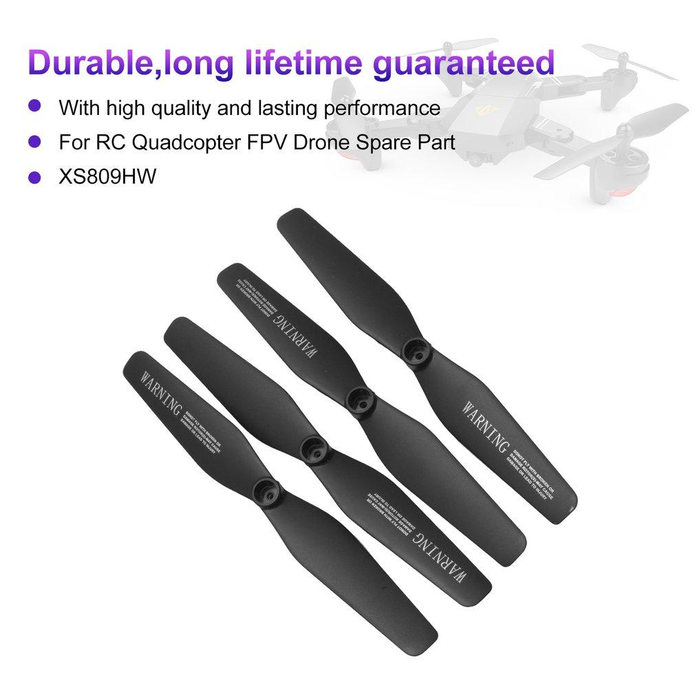 4Pairs CCW//CW Drone Propeller Blades Props for KY601S RC Quadcopter Accessory