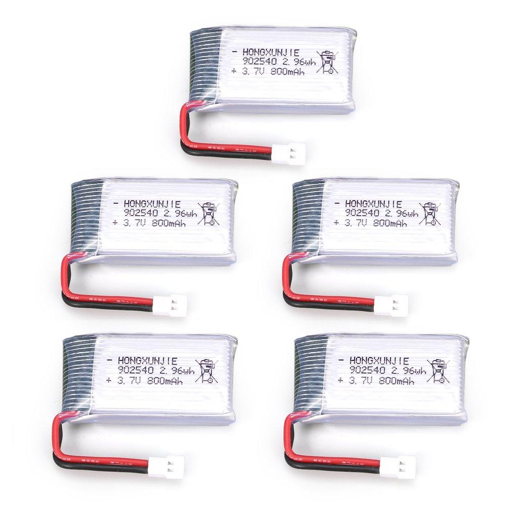 4pcs 3.7V 600mAh Akku Batterie Lipo für Drohne Syma X5C X5C X5SC X5SW BC685 P1