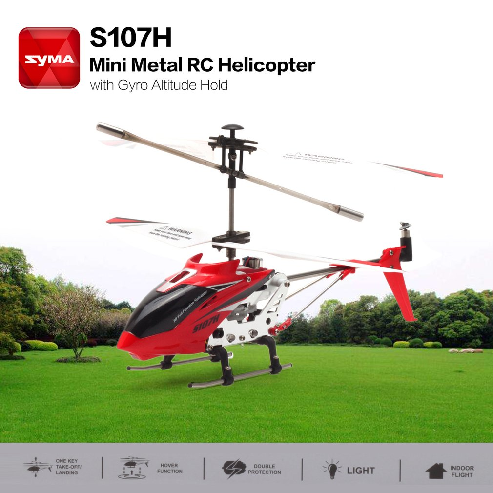 Syma S107h Gyro Metal 24g 35h Rc Drone Mini Helicopter Altitude Compact Arduino Altimeter For Planes Circuit Hold Toys Ds
