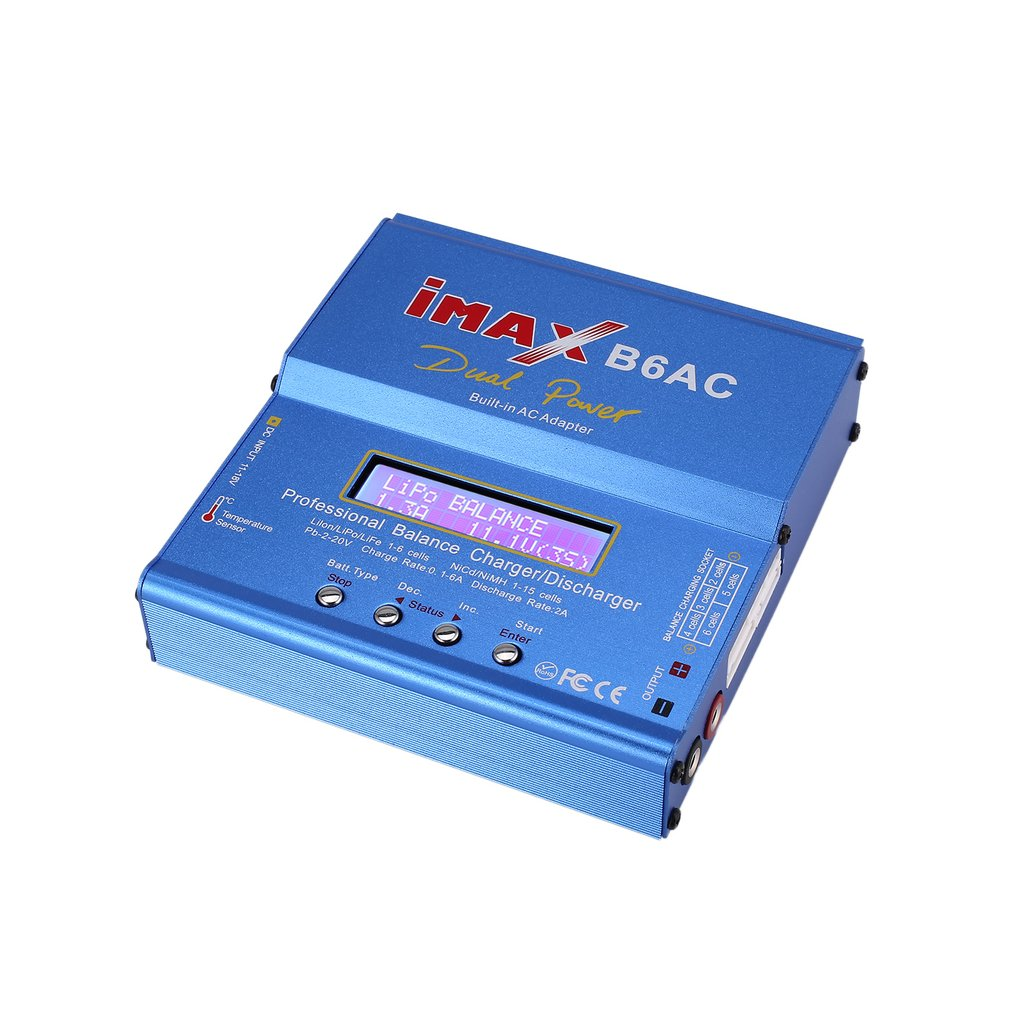 Imax B6ac 80w Ac Dc Lipo Nimh Battery Balance Charger Discharger For Digital Balancer Item Specifics