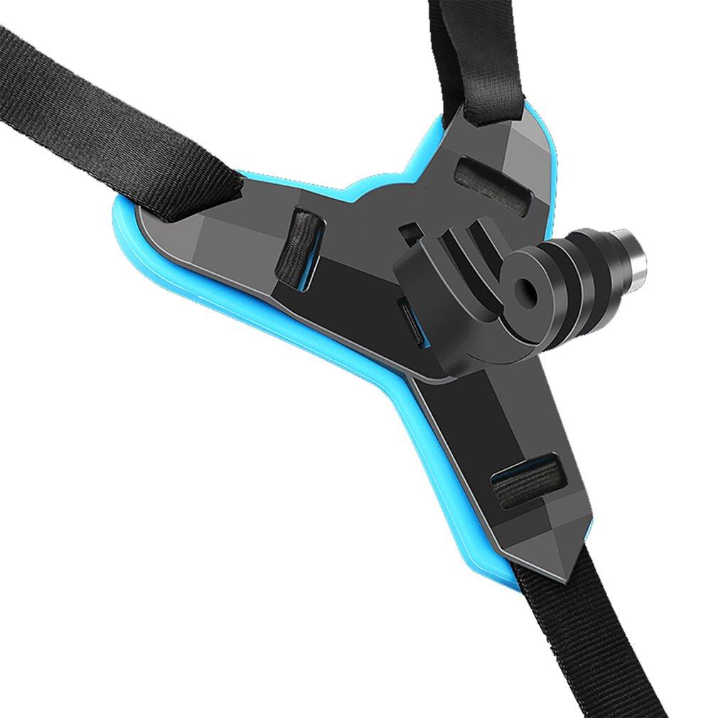 Casco De Motocicleta Soporte Para Barbilla Adaptador de montaje frontal para GoPro Hero 6//5//4