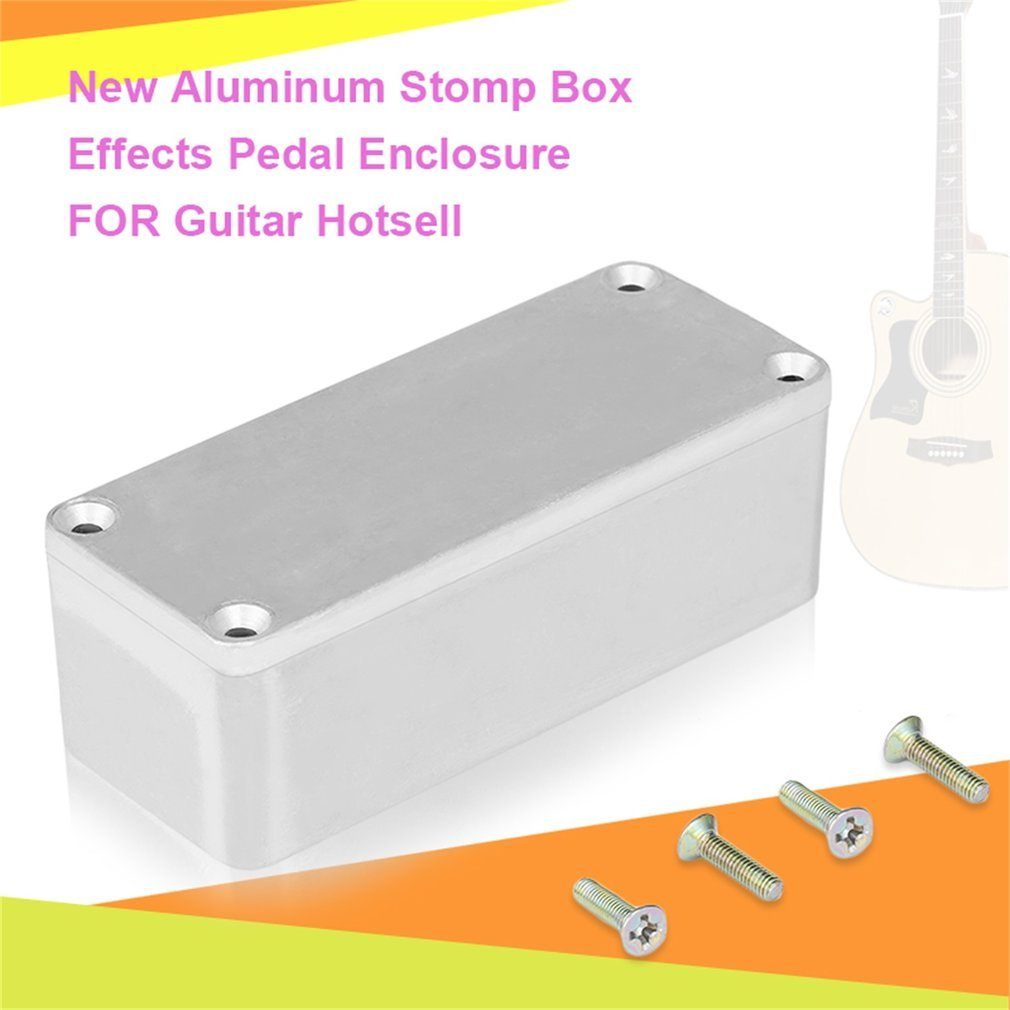 1590a 1590b 1590bb aluminum stomp box effects pedal enclosure fr guitar gv ebay. Black Bedroom Furniture Sets. Home Design Ideas
