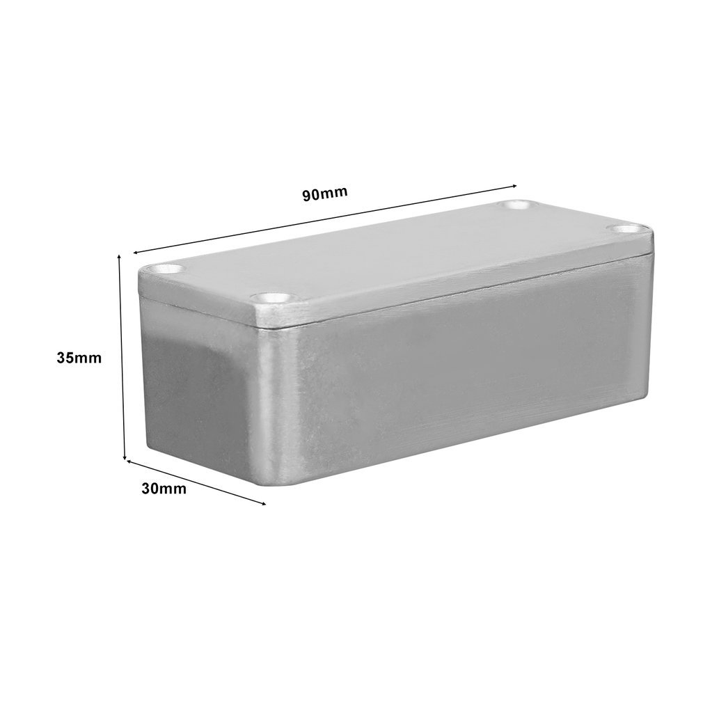 new aluminum stomp box effects pedal enclosure for guitar hotsell rro ebay. Black Bedroom Furniture Sets. Home Design Ideas