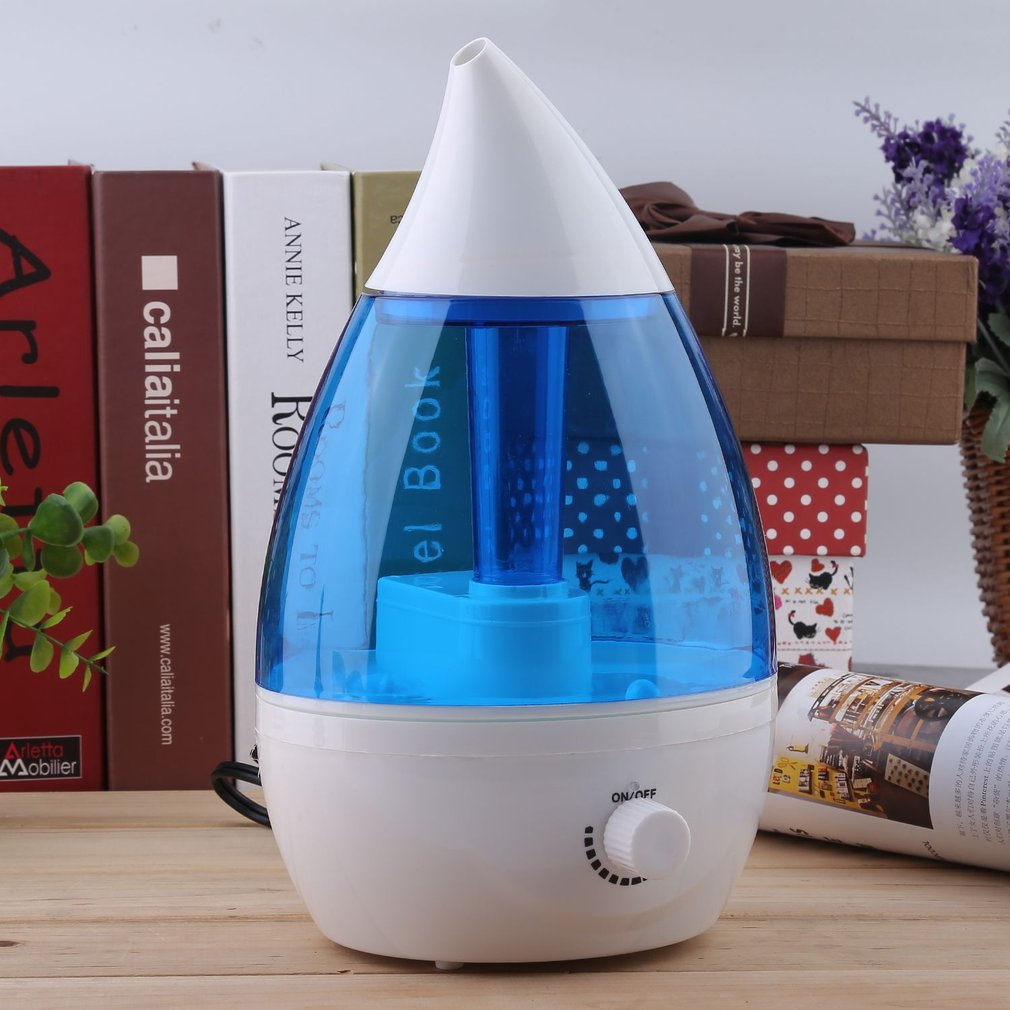 Lot 35l Ultrasonic Humidifier Cool Air Diffuser Purifier Home Crane Usa Dropshape Blue White Mist New Water Drop Shape Aroma Aromatherapy Maker For Office Us Plug