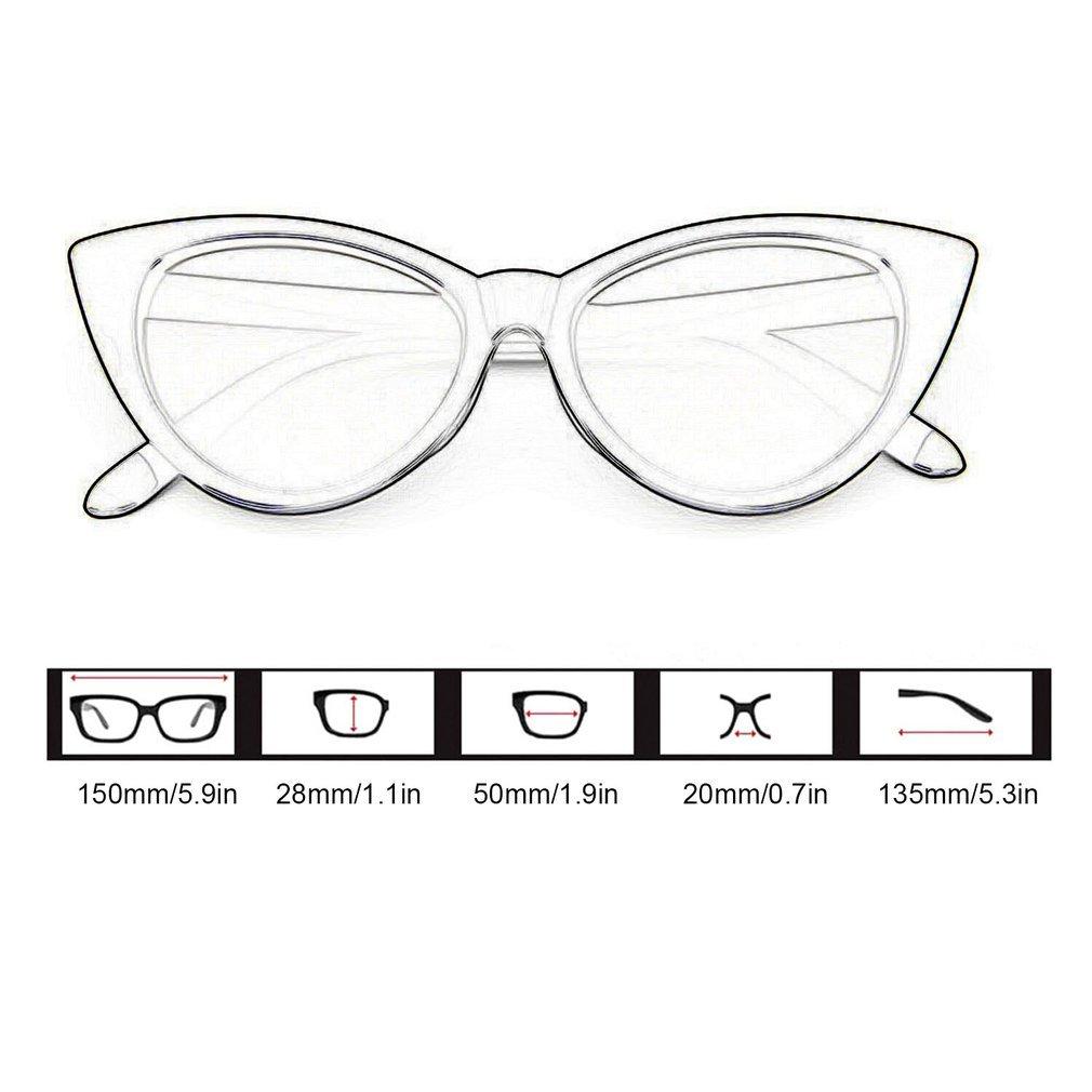 498a15e6a8 Vintage Cat Eye Women Sunglasses PC Frame Resin Lens UV400 Eyewear ...