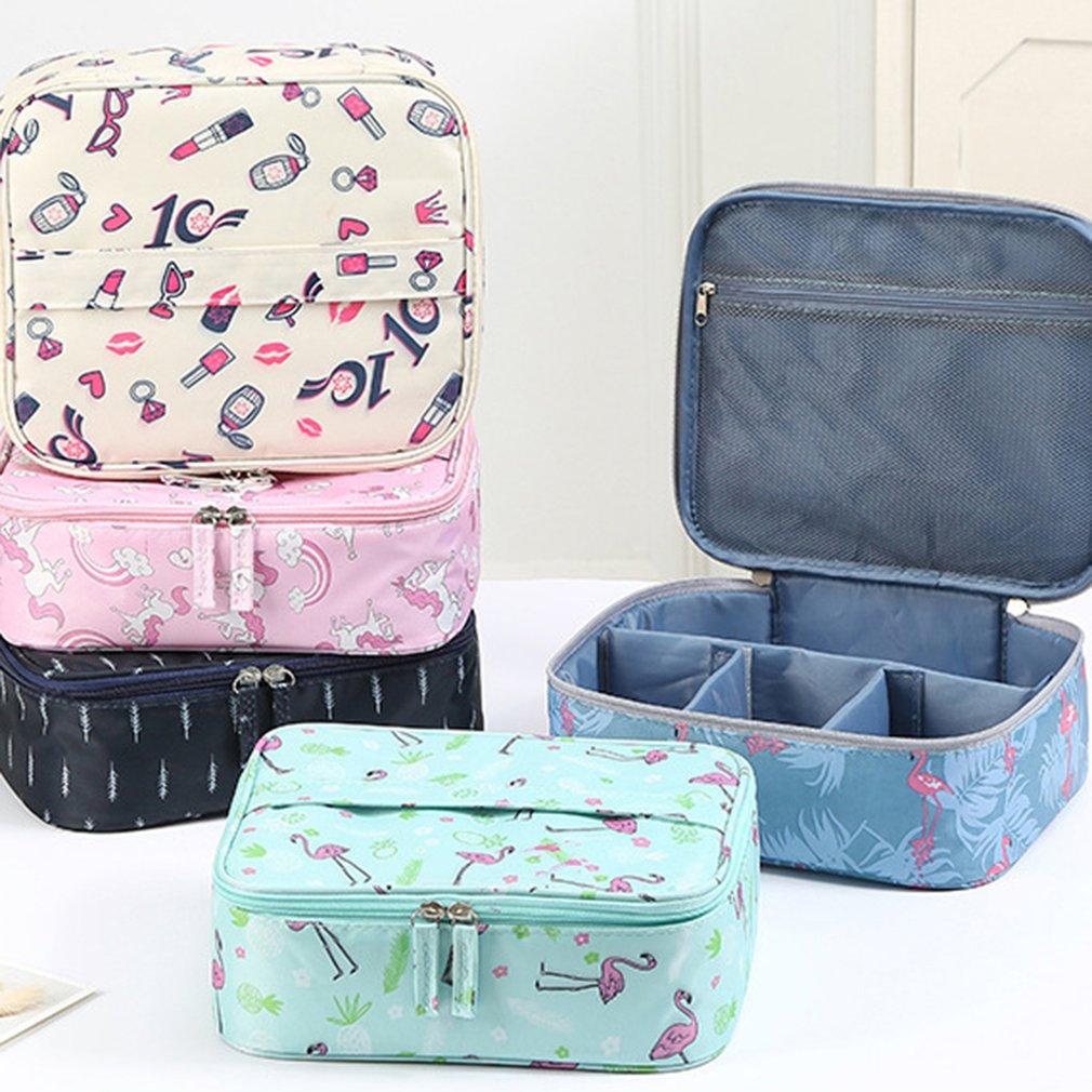 cf4ae2ee16c3 Magic Drawstring shrink Cosmetic Bag Women Travel Organizer Lazy Makeup  Case Pouch Beauty Vanity Toiletry Kit Tool Storage Bag