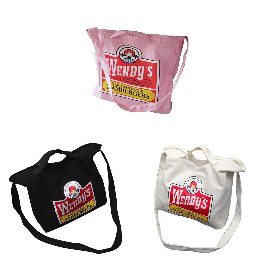 Kawaii Printed Canvas Single Shoulder Bags Shopping Bag Tote Crossbody Bags  FA cdd0539989