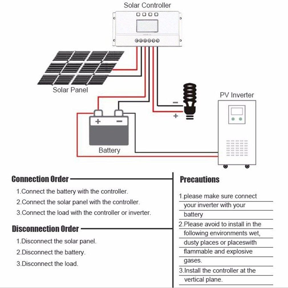 Lcd Display 12v 24v Mppt Solar Panel Regulator Charge Controller 3 Specifics Item