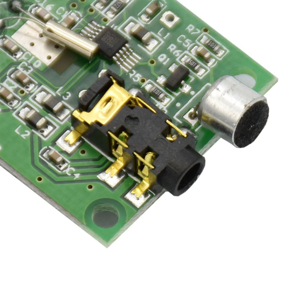 Stereo Fm Transmitter Module Digital Microphone Board Frequency Modulated Oscillator Circuit Notes 1 Please Allow 3cm Measure Error 2 The Color Of Actual Items May Slightly Vary From Above Images Due To Different Computer Screen