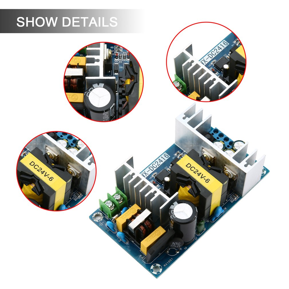 Ac Dc Inverter 110v 220v To 24v 6a 150w Switching Power Adapter Converter Circuits Electronic Design Ic