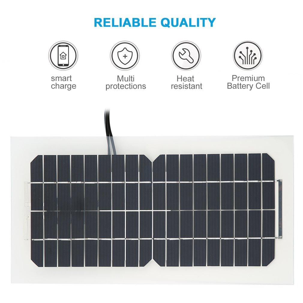 18v 55w Car Battery Solar Charger Panel For 12v 5v Tr Smart Item Specifics