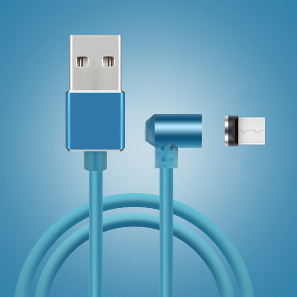 Data Charger Cord for Lightning Cable Magnetic 360 Degree Angle ...