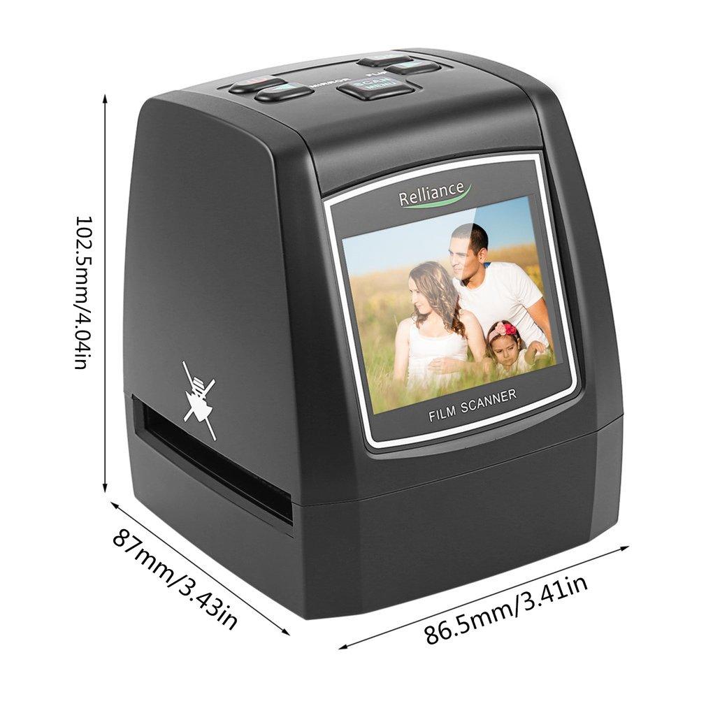 Details about WL18 All-In-1 Film Scanner Slide Scanner Automatic B&W Slides  CMOS Sensor SH
