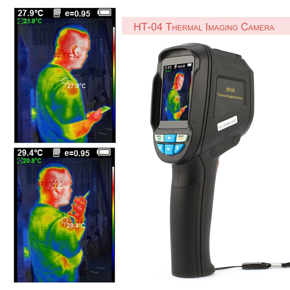 Ht 04 175 Ht 02 Ht 02d Handheld Ir Thermal Imaging Camera